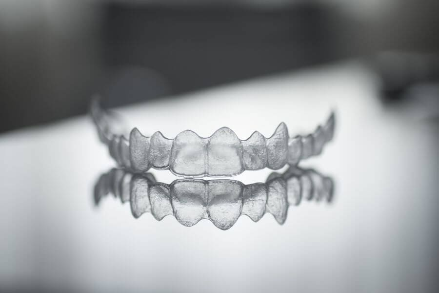 Dentist in Weston Invisible dental teeth brackets tooth plastic braces